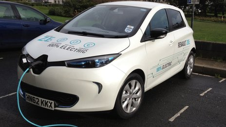 Affordable plug-in: the Renault Zoe