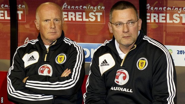Peter Houston and Craig Levein