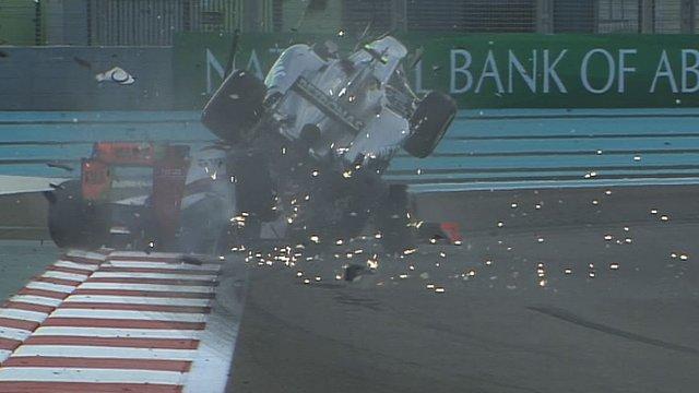 Nico Rosberg and Narain Karthikeyan