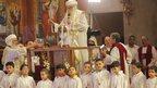 Selection of boys at St Mark's Cathedral. Photo: 4 November 2012