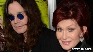 Sharon and Ozzy Osbourne