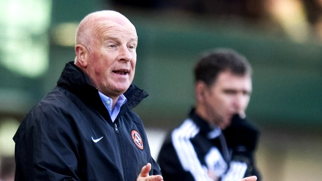 Dundee Utd manager Peter Houston