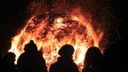 Bonfire night. Photo: Debbie Stitt