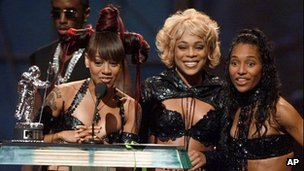 TLC at the MTV Awards in 1999