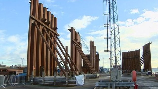 New Forth crossing being built