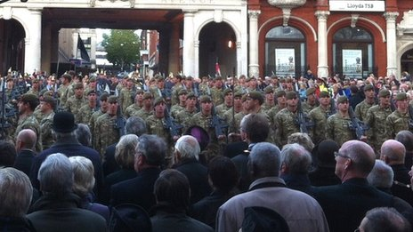 Royal Anglian Regiment, Ipswich
