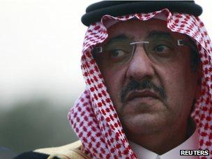 Prince Mohammed bin Nayef (file)