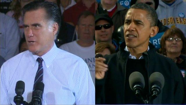 Mitt Romney & President Obama