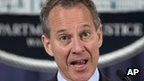 New York Attorney General Eric Schneiderman (file pic)