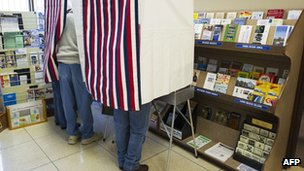 Voters in Ocean County in New Jersey vote in a special early mail voting arrangement