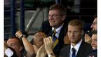 Levein celebrates a late winner at Hampden