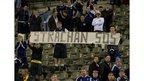 Scotland fans in Belgium