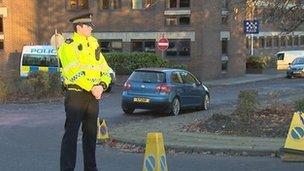 Policeman at Baird street