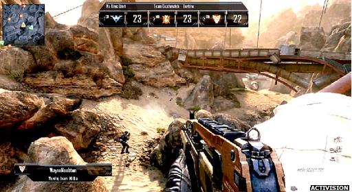 Black Ops 2 screenshot