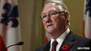 Gerald Tremblay resigns. 5 Nov 2012