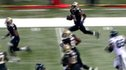 Patrick Robinson scores a 98 yard touchdown.