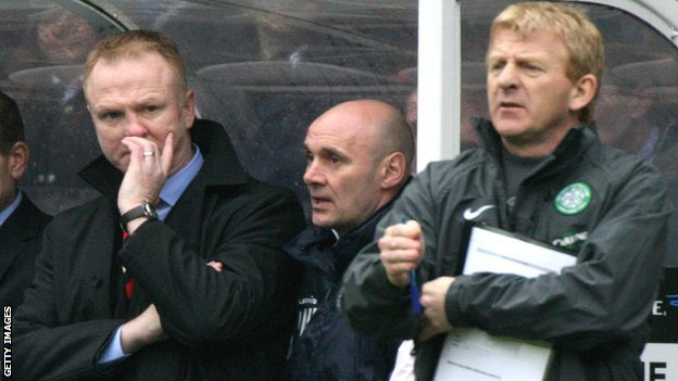 Alex McLeish & Gordon Strachan