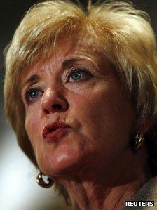 Republican Senate candidate Linda McMahon