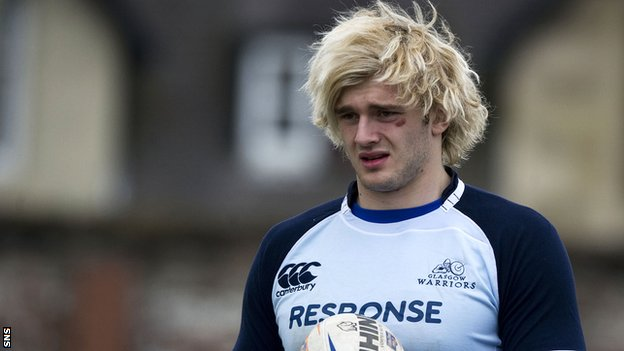 Scotland lock Richie Gray