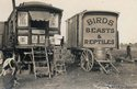 Two caravans that were part of the Manders Menagerie travelling show (c) Tyne & Wear Archives & Museums