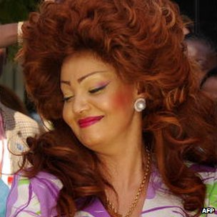 Chantal Biya pictured in 2009