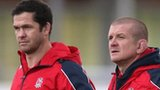 Andy Farrell and Graham Rowntree
