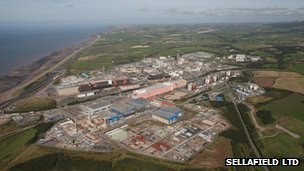 Sellafield Nuclear Plant 