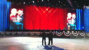 The Obama stage