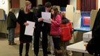 Paul Ryan votes with his family in Janesville, Wisconsin