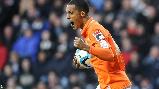 Tom Ince of Blackpool