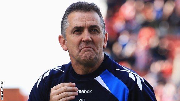 Former Bolton manager Owen Coyle
