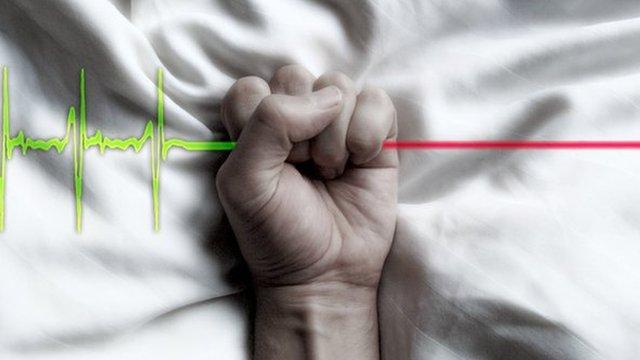 Beautiful image of euthanasia vs