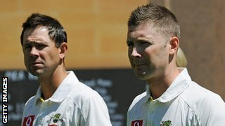 Ricky Ponting & Michael Clarke