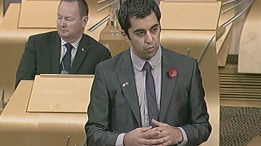 External Affairs and International Development Minister Humza Yousaf