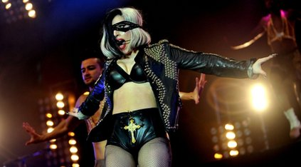 Lady Gaga at Radio 1&#039;s Big Weekend