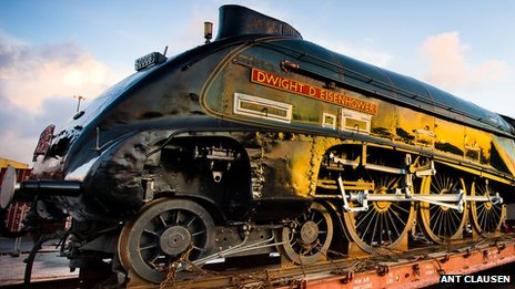 Dwight D Eisenhower locomotive