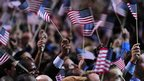 Supporters of US President Barack Obama celebrate 