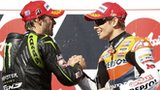 Cal Crutchlow and Casey Stoner