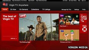 Virgin TV Anywhere