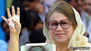 Bangladeshi former premier Khaleda Zia