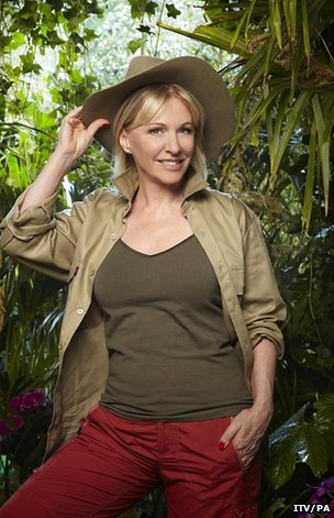 Nadine Dorries prepares for I&#039;m a Celebrity