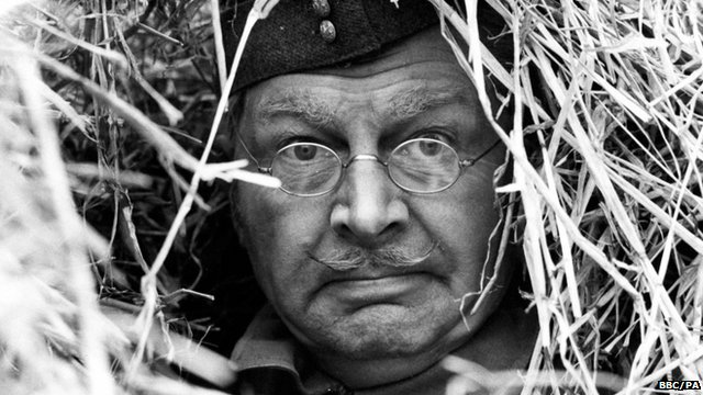 Actor Clive Dunn as Lance-Corporal Jones in Dad's Army