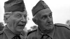 Clive Dunn with John Laurie (R) in Dad's Army