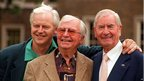 Ian Lavender, Clive Dunn and Bill Pertwee in 1998