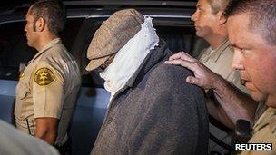 Nakoula Basseley Nakoula escorted from his home. September 2012