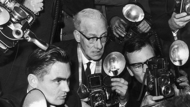 Archive photo of press photographers