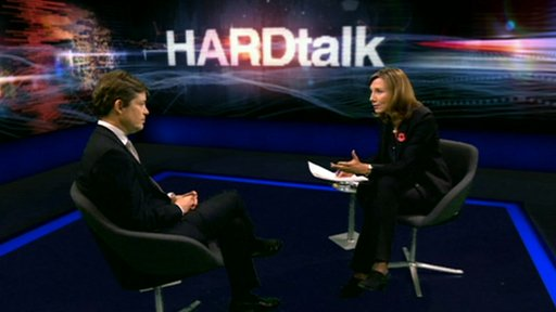 Nicolas Berggruen and Sarah Montague on HARDtalk
