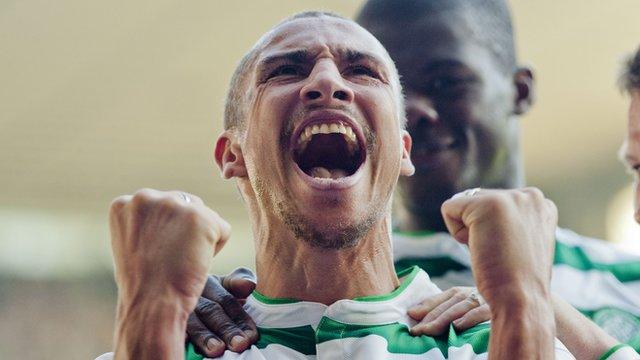 Former Celtic striker Henrik Larsson