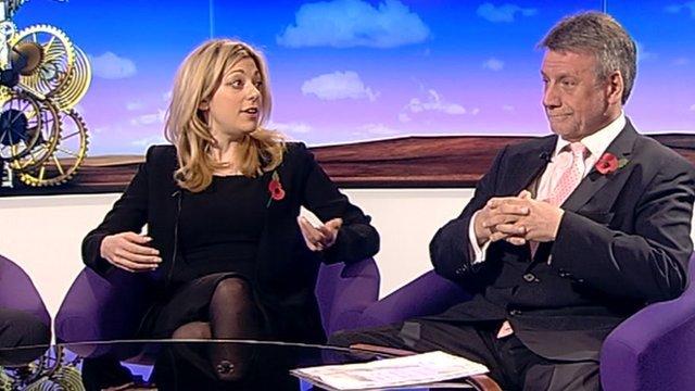 Charlotte Harris and Neil Wallis