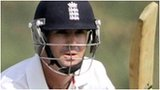 Kevin Pietersen hits out during his century on the opening day